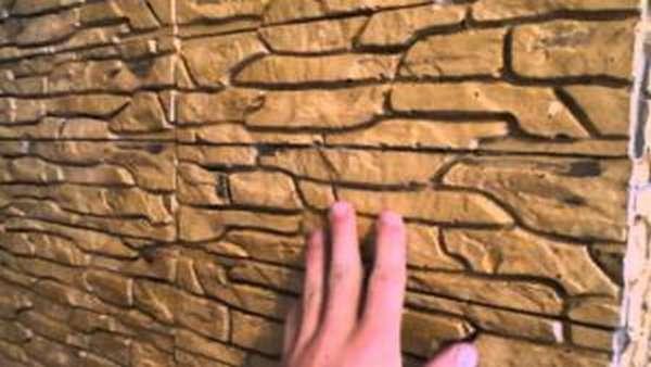 Отделка печи декоративным гипсовым камнем, фото, теория и практика