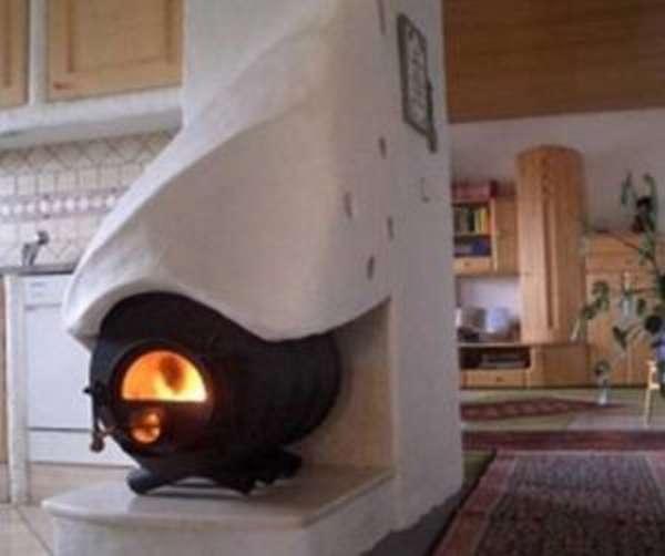 Самостоятельная установка печи булерьян в загородном доме