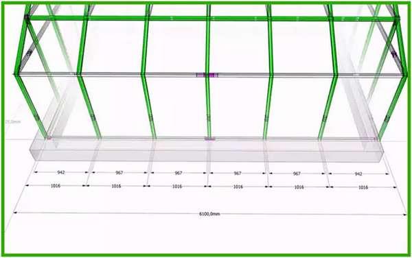 Как изготовить каркас для дома из профильной трубы: пошаговая инструкция с чертежами и фото