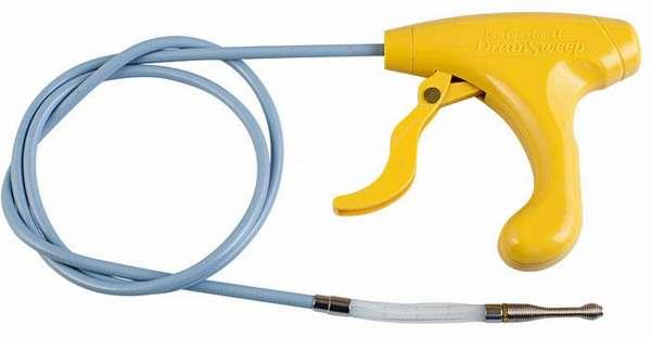 Вариант оборудования для прочистки труб