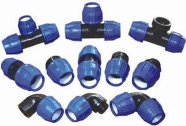 Различные пластиковые фитинги