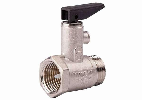 Предохранительный клапан сохранит пластиковую трубную разводку