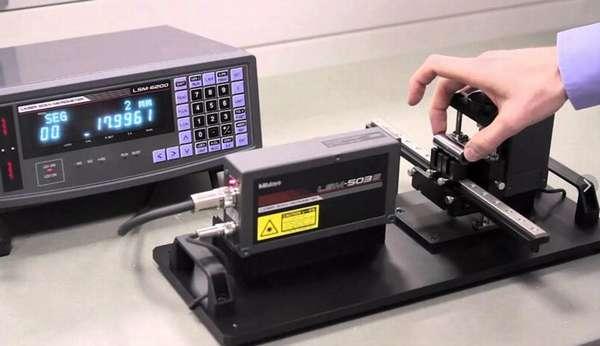 Цифровой лазерный микрометр Mitutoyo