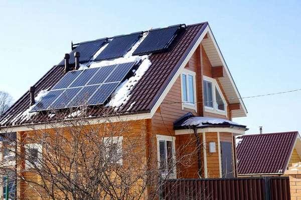 Солнечные батареи должны занимать не менее 65% площади ската