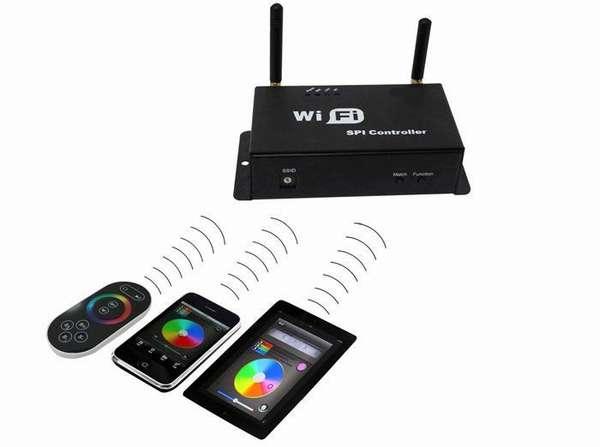 Еще удобнее, если диммер поддерживает управление по Wi-Fi