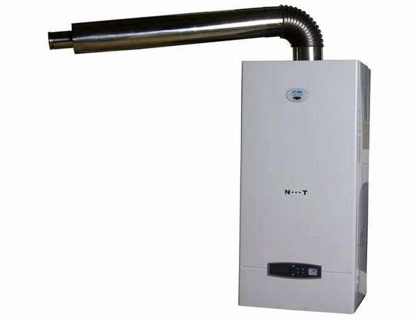Система отвода отработанных продуктов сгорания