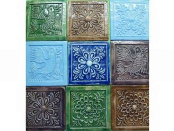 Виды керамической плитки для печи