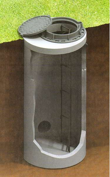 Конструкция смотровых колодцев