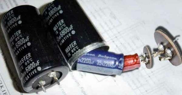 А вот что умеют делать всем известные китайские «изобретатели» – такой конденсатор явно долго не протянет