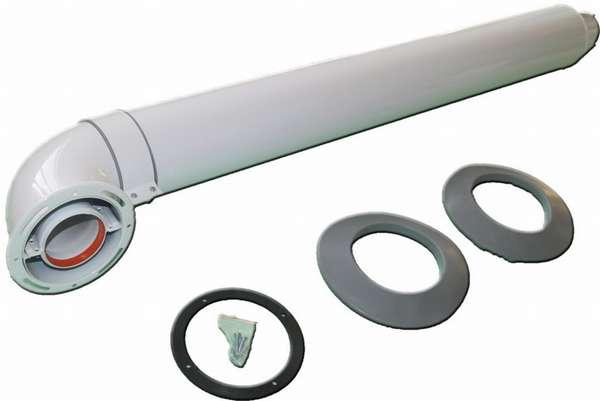 Как правильно установить коаксиальный дымоход для газового котла?