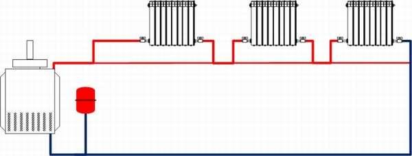 Ленинградка - схема отопления