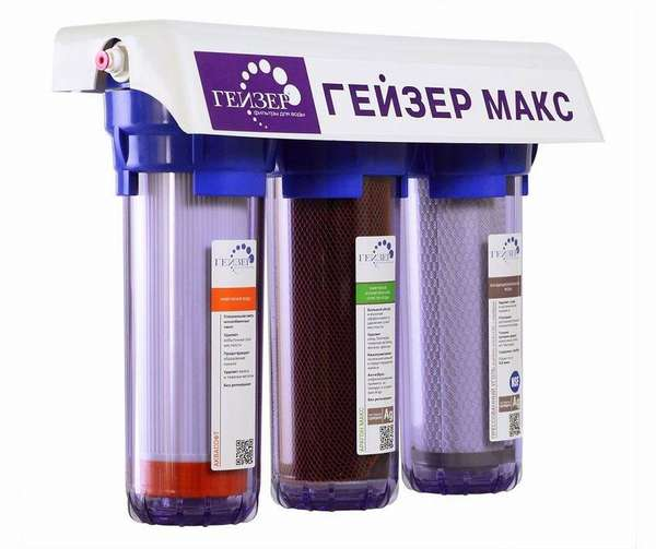 Фильтр «МАКС» для умягчения жесткой воды