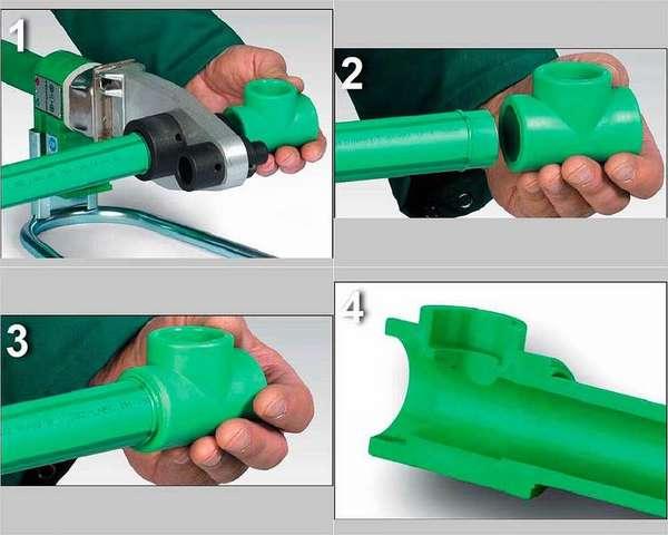 Сварка полипропиленовых труб: инструкция для начинающих