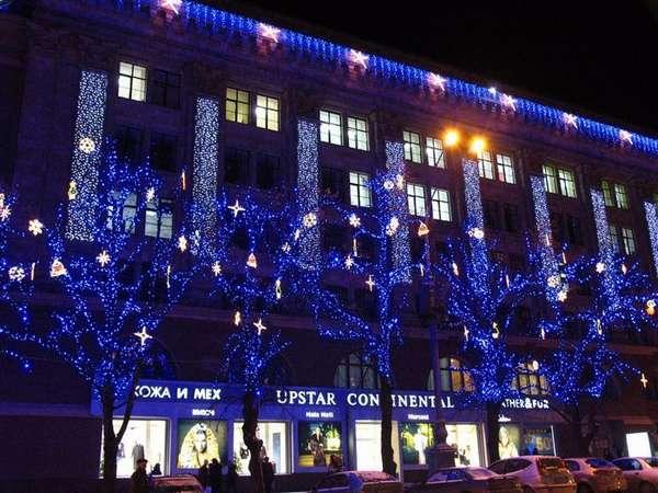 Новогодняя сказка: морозостойкие уличные светодиодные гирлянды