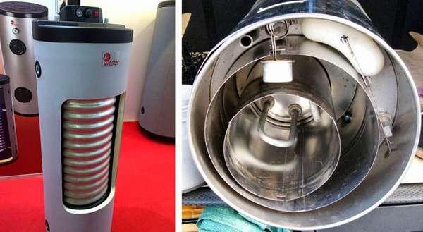 При создании такого оборудования на заводе (своими руками) часто применяют высококачественную «пищевую» и «медицинскую» нержавеющую сталь
