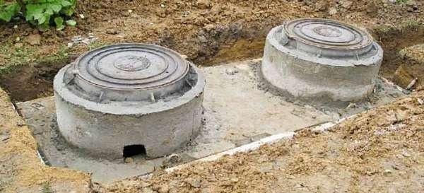 бетонный септик для дачи