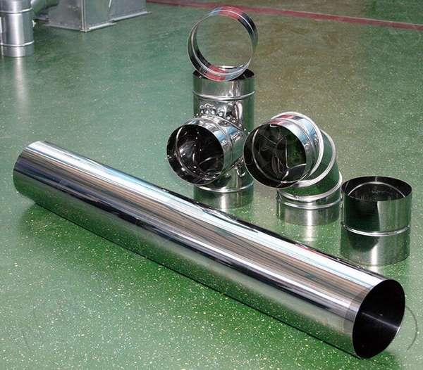 Круглые вентиляционные трубыКруглые вентиляционные трубы