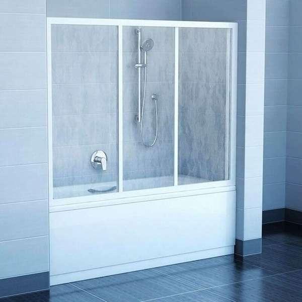 Компактная душевая кабина, совмещённая с ванной