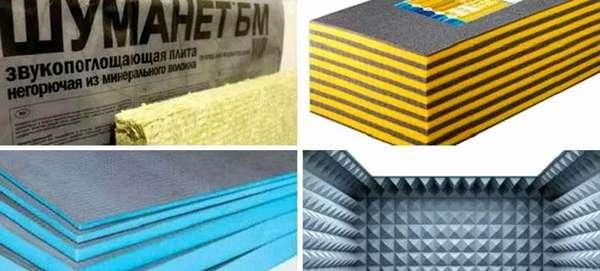 Для повышения уровня комфорта дополнительную шумоизоляцию создают с применением специальных материалов