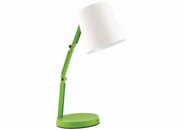 Простой светильник для рабочего стола школьника