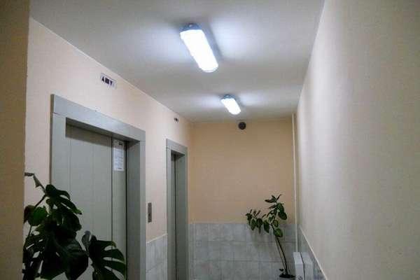 Накладные светодиодные светильники для внутреннего освещения подъездов помогают снизить затраты на электроэнергию. Они сохраняют функциональность при интенсивном режиме эксплуатации, хорошо совместимы с автоматическими системами управления