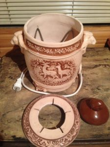 Электрический тандыр-шашлычница для дома