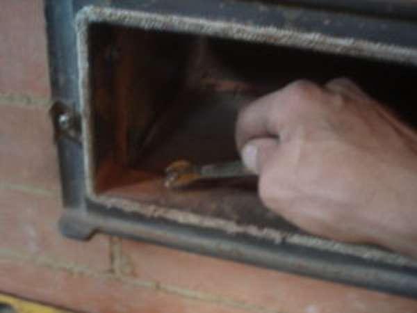 Инструкция по установке топочной дверцы для кирпичной печи