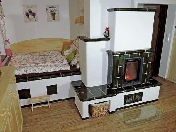 Русская печь в современном интерьере фото-подборка различных вариантов дизайна