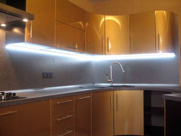 Освещение рабочей поверхности кухонного гарнитура