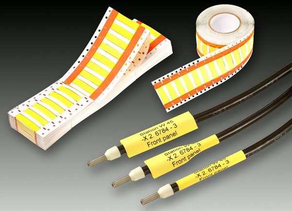Удобные кольца для цветовой маркировки проводов