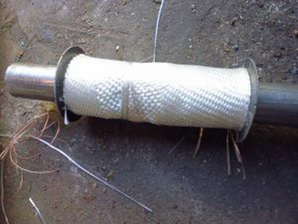 Как заварить глушитель холодной сваркой: можно ли заделать дырку?