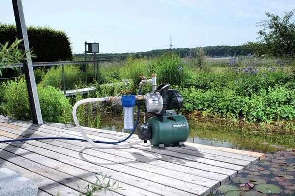 Напор насосной станции зависит от месторасположения и глубины источника воды