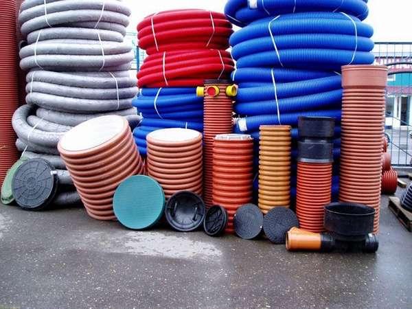 Пластиковые колодцы бывают различного вида и размера