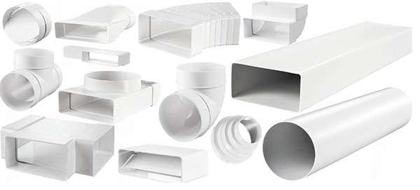 вентиляционные трубы пластиковые