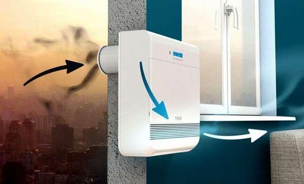 ТионБризер О2 позиционируется на рынке как приточная вентиляция в квартире с фильтрацией нового поколения