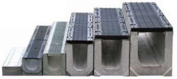6 видов водоотвода бетонного