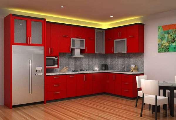 Использование подсветки над шкафами для кухни