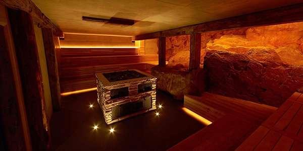 Баня в подвале