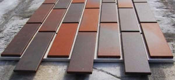 Клинкерная плитка для печей и ее характеристики