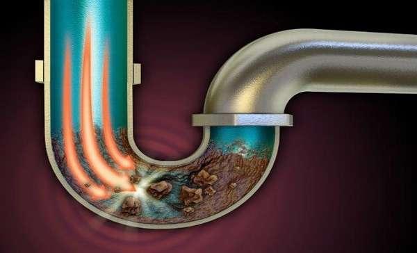 устранение запаха из канализации