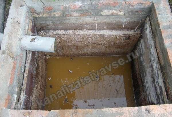 яма под туалет