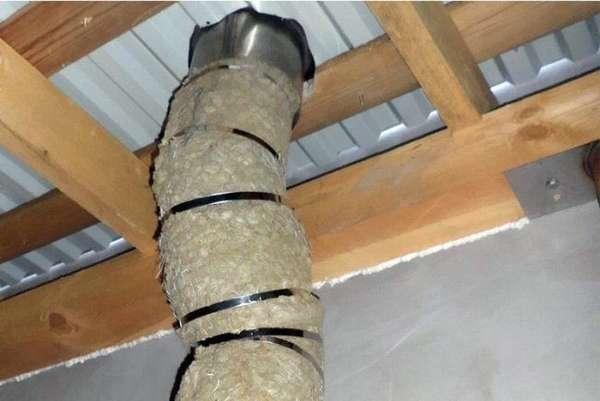 Как правильно утеплить трубу дымохода своими руками и зачем это делать?