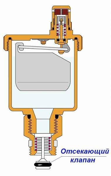 камера — наполнитель для улавливания воздуха
