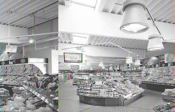 Применение светодиодных светильников в крупных торговых залах помогает значительно снизить расходы на электроэнергию