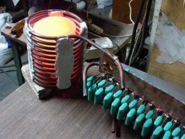 Как сделать индукционный нагреватель из сварочного инвертора?