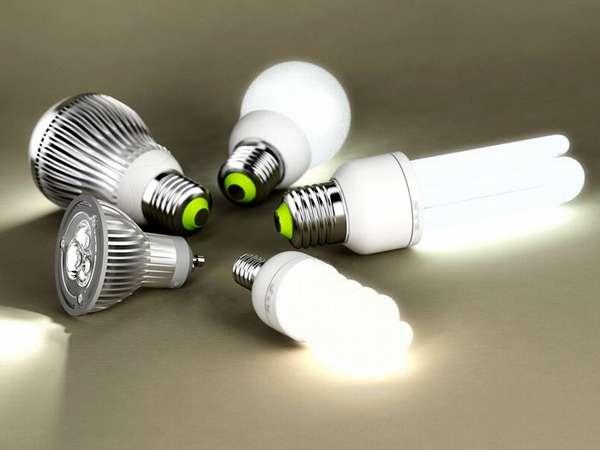 При выборе надо учитывать тип цоколя ламп светодиодного светильника