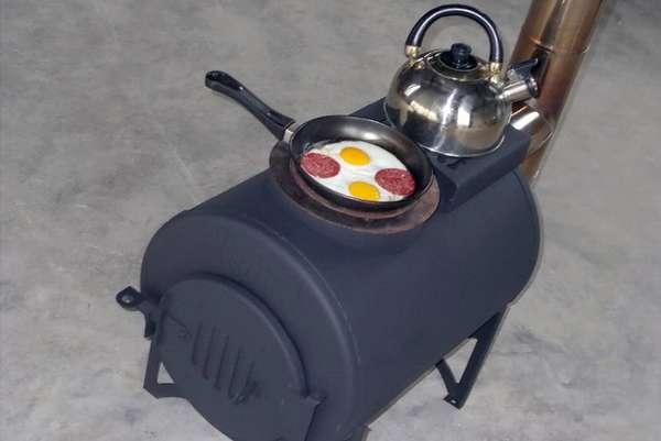 Как самостоятельно сделать печь из 530-й трубы для бани: пошаговое руководство