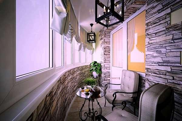 Какой выбрать дизайн балкона