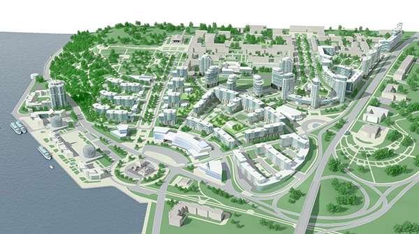 схема районной планировки