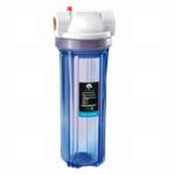 Что такое магистральный проточный фильтр для воды: назначение и виды